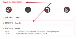 WWW.JET.CO.ID Cek Kiriman Tracking Resi Otomatis